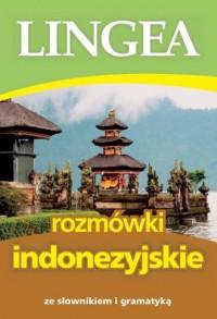 Rozmówki indonezyjskie ze słownikiem i gramatyką - okładka podręcznika