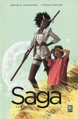 Saga. Tom 3 - okładka książki