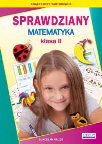 Sprawdziany. Matematyka. Klasa 2. Sukces w nauce - okładka podręcznika