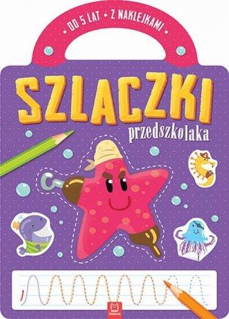 Szlaczki przedszkolaka od 5 lat - okładka książki