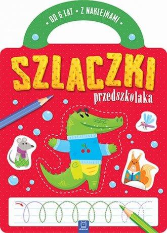 Szlaczki przedszkolaka od 6 lat - okładka książki