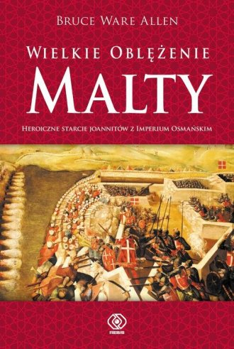 Wielkie Oblężenie Malty - okładka książki