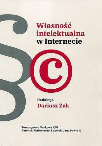 Własność intelektualna w Internecie. - okładka książki