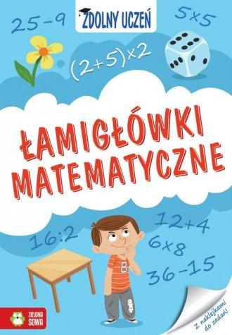 Zdolny uczeń. Łamigłówki matematyczne - okładka podręcznika