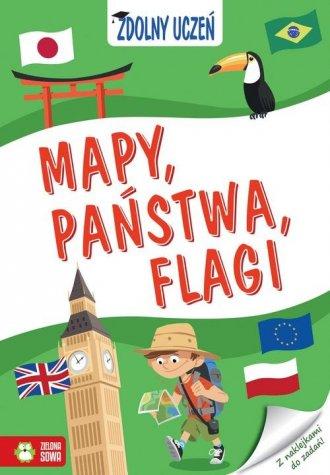 Zdolny uczeń. Mapy, państwa, flagi - okładka podręcznika