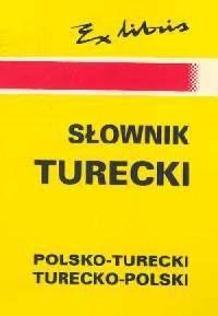 Słownik turecko-polski, polsko-turecki - okładka książki