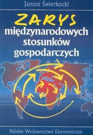 Zarys międzynarodowych stosunków - okładka książki