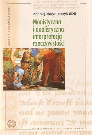 Zeszyty z metafizyki 1. Monistyczna - okładka książki