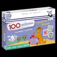 100 zabaw z kangurem Arturem. Na wakacje i w podróży - zdjęcie zabawki, gry