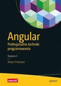 Angular Profesjonalne techniki programowania - okładka książki