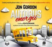 Autobus energii - Jon Gordon - pudełko audiobooku