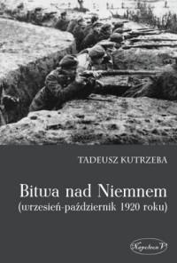 Bitwa nad Niemnem wrzesień-październik 1920 roku - okładka książki