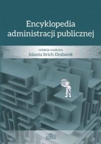 Encyklopedia administracji publicznej - okładka książki