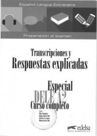 Especial DELE A2 curso completo klucz - okładka podręcznika