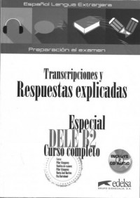 Especial DELE B2 curso completo klucz - okładka książki