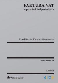 Faktura VAT w pytaniach i odpowiedziach - okładka książki