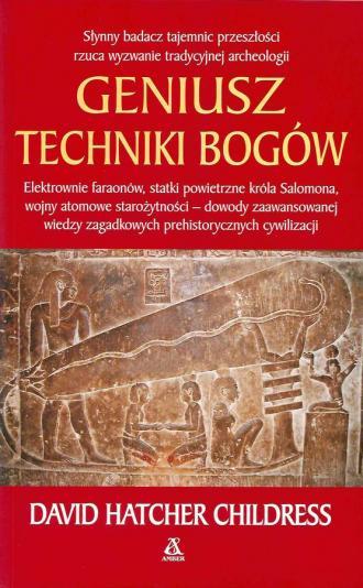 Geniusz techniki bogów - okładka książki