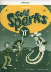 Gold Sparks. Szkoła podstawowa. Zeszyt ćwiczeń - okładka podręcznika