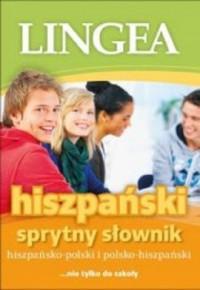 Hiszpańsko-polski polsko-hiszpański sprytny słownik. nie tylko do szkoły - okładka podręcznika