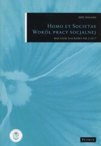 Homo et Societas Wokół pracy socjalnej Nr 2/2017 - okładka książki