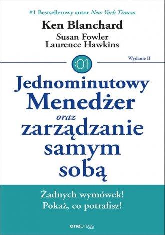 Jednominutowy Menedżer oraz zarządzanie - okładka książki