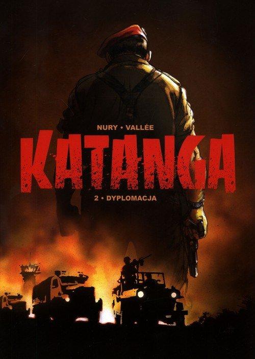 Katanga 2. Dyplomacja - okładka książki