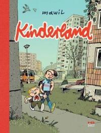Kinderland - okładka książki