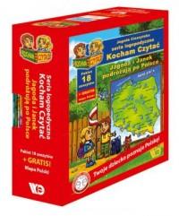 Kocham czytać Jagoda i Janek podróżują po Polsce 18 zeszytów. PAKIET - okładka książki