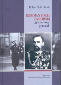 Kordian Józef Zamorski granatowy generał - okładka książki