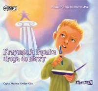 Krzysztofa Pączka droga do sławy - pudełko audiobooku