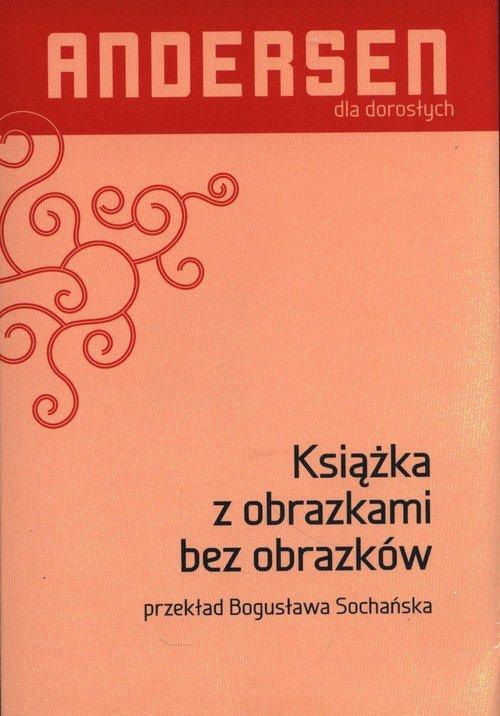 Książka z obrazkami bez obrazków - okładka książki