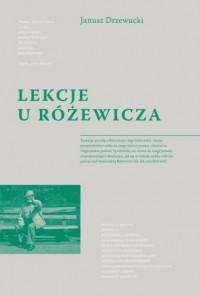 Lekcje u Różewicza - okładka książki