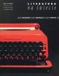 Literatura na świecie 2018/01-02 - okładka książki