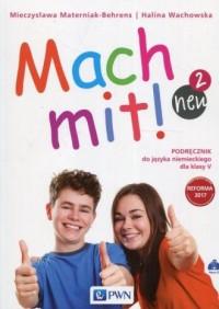 Mach mit! neu 2. Szkoła podstawowa. Podręcznik do języka niemieckiego dla klasy V (+ 2 CD) - okładka podręcznika