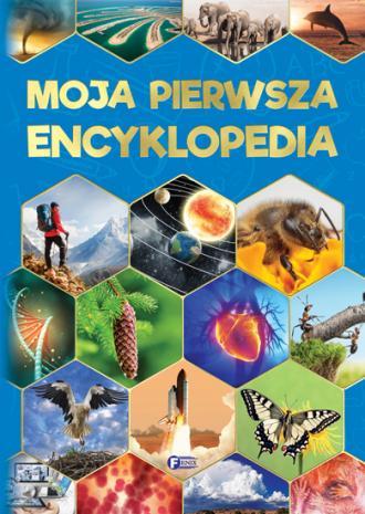 Moja pierwsza encyklopedia - okładka książki