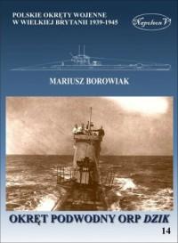 Okręt podwodny ORP Dzik - okładka książki