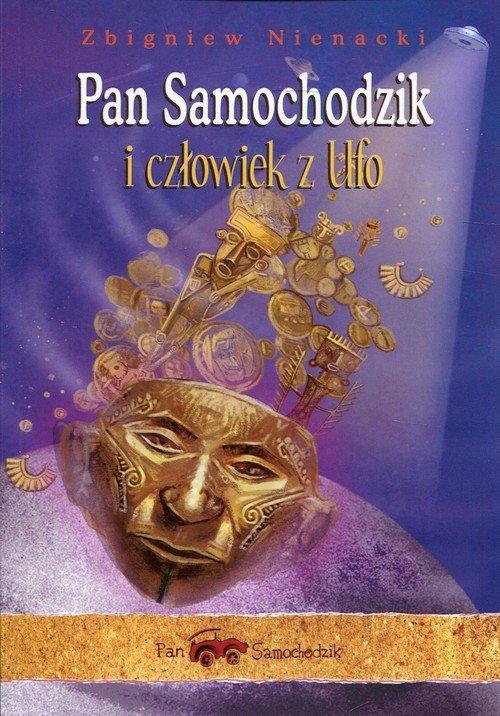 Pan Samochodzik i człowiek z ufo - okładka książki