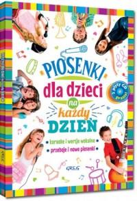 Piosenki dla dzieci na każdy dzień - okładka książki