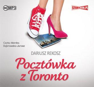 Pocztówka z Toronto - pudełko audiobooku