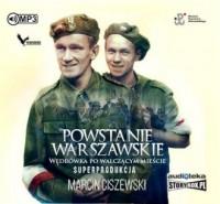 Powstanie warszawskie. Wędrówka po walczącym mieście - pudełko audiobooku