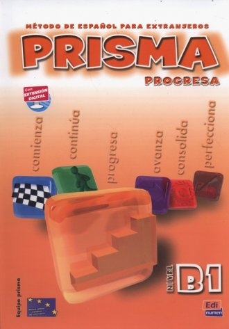 Prisma nivel B1 Podręcznik + CD - okładka podręcznika