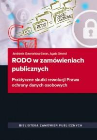 RODO w zamówieniach publicznych - okładka książki