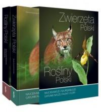 Rośliny Polski i Zwierzęta Polski komplet w etui - okładka książki