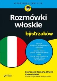Rozmówki włoskie dla bystrzaków - okładka podręcznika