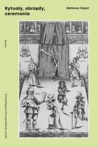 Rytuały obrzędy ceremonie - okładka książki