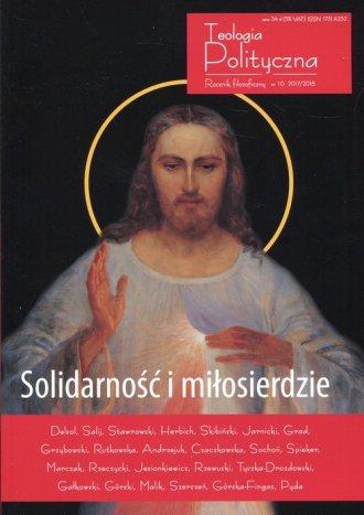 Solidarność i miłosierdzie Teologia - okładka książki