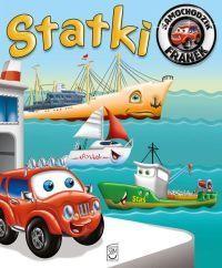 Statki. Samochodzik Franek - okładka książki