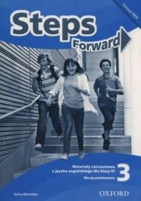 Steps Forward 3. Szkoła podstawowa. Materiały ćwiczeniowe - okładka podręcznika