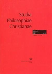 Studia Philosophiae Christianae 2017/1 - okładka książki