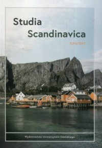 Studia Scandynavica 1 (21)  2017 - okładka książki